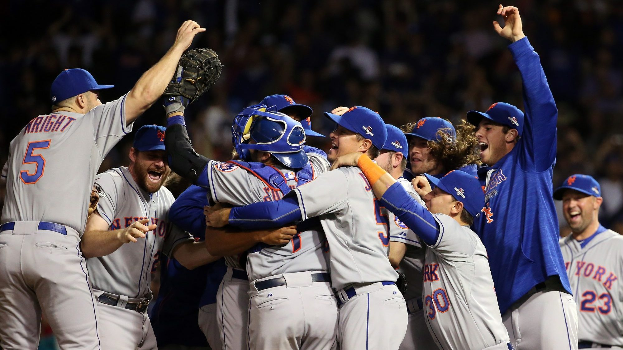 New York Mets Chicago Cubs 2015 NLCS