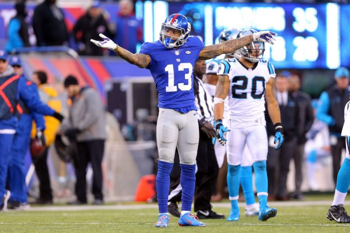 If New York Giants' Odell Beckham Jr. Wants To Be The Best, He Must Change His Ways