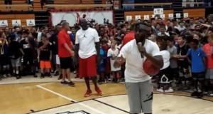 Michael Jordan, Chris Paul & Derek Fisher Shoot For Shoes (Video)