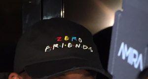 New York Jets' Geno Smith Wears 'Zero Friends' Hat (Photo)
