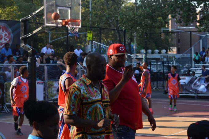 Wyclef Jean Talks Knicks, Melo At Rucker Park