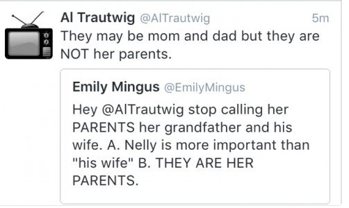 Jen Talley on Twitter So AlTrautwig deleted his horribly rude insulting comment but guess what screenshot. NBCOlympics simonebiles https t.co m6EtwJi1Ln