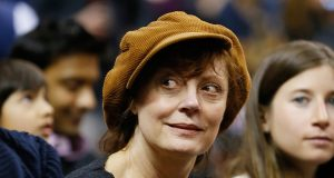 Susan Sarandon Among Celebs Recruiting Jimmy Vesey For Rangers