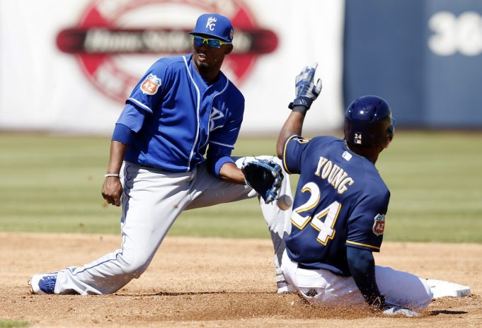 New York Yankees Acquire Eric Young Jr. From Brewers