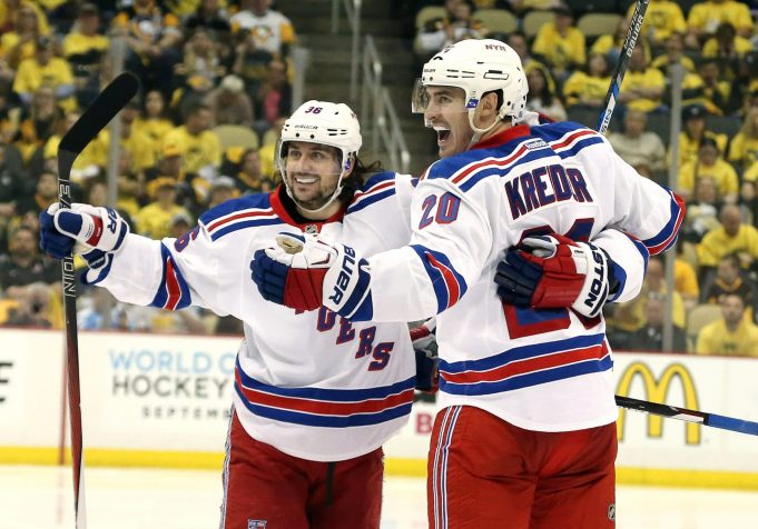 The New York Rangers Have Positive Question Marks Regarding Their Forwards 1