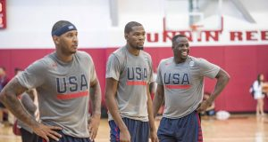 New York Knicks' Carmelo Anthony Parties With Kevin Durant 2