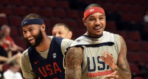 Carmelo Anthony Roasting Teammates, Signing Autographs At Rio Olympics (Video)