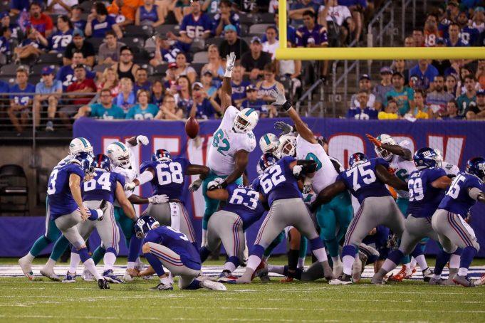 New York Giants Kicking Options Following Josh Brown's Suspension