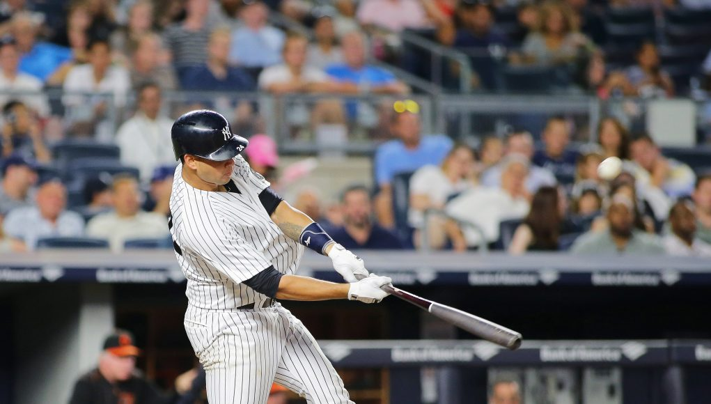 Gary Sanchez Is Singlehandedly Keeping The New York Yankees Alive