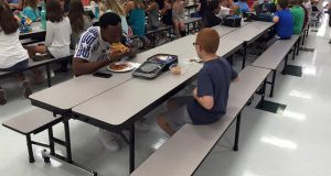 FSU WR Travis Rudolph Sits With Autistic Middle Schooler At Lunch (Video)