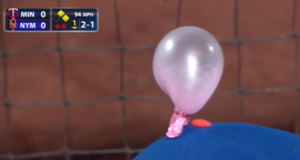 Which New York Mets Player 'Got' Kevin Plawecki With The Gum On Hat Prank? (Video)