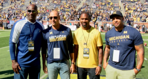 New York Yankees Icon Derek Jeter, Michael Jordan & More Attend Michigan Opener