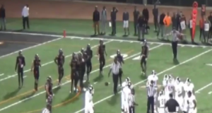 JuCo Player Bernard Schirmer Is Arrested Mid-Game For Knocking Out Ref (Video)