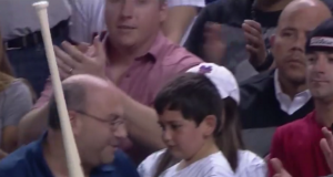New York Mets Soothe Kid's Arm With Phenomenal Gesture (Video)