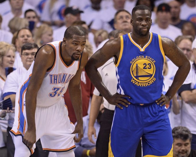 Draymond Green Jokes About Aggressive Recruiting Of Kevin Durant To Warriors