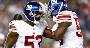 New York Giants' Linebacker JT Thomas Agrees To Pay Cut