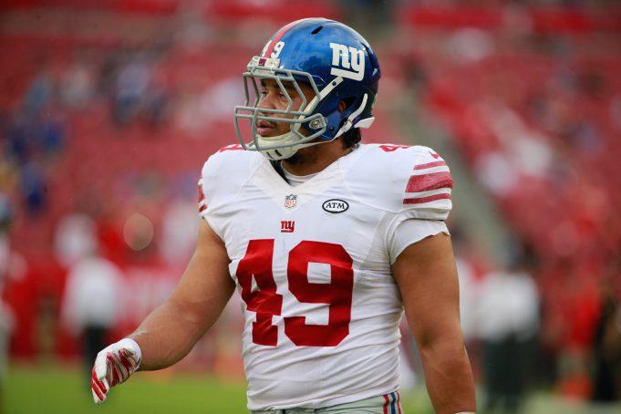 New York Giants' Fullback Nikita Whitlock Suspended 10 Games