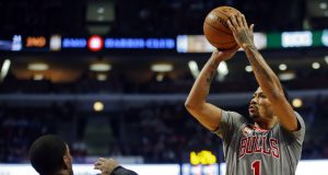 Derrick Rose Doesn't Miss Threes In Training Camp