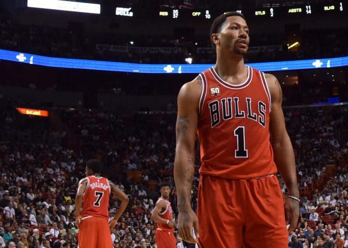 New York Knicks' Derrick Rose: 'Chicago's Love Not On NY's Level'