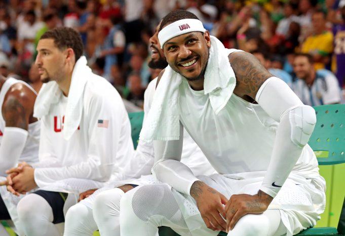 Post-Rio Olympics, Carmelo Anthony Feels Great