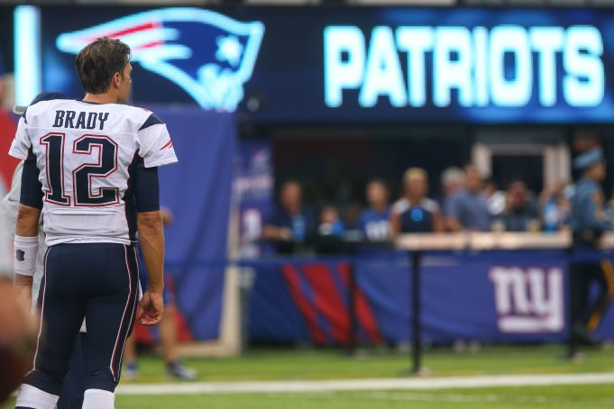 Tom Brady's Whining Continues By Not Wearing NFL Decal On Helmet