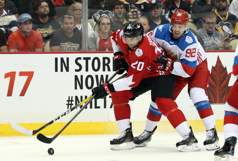 best authentic d7ff6 d040c New York Islanders' John Tavares Scores Game-Tying Goal For ...