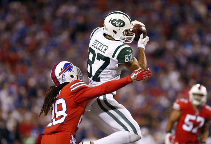 How The Loss Of Eric Decker Will Impact The New York Jets On Sunday