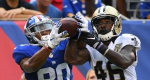 After Odell Beckham Jr. Drops It, Victor Cruz Snatches It For New York Giants (Highlights)