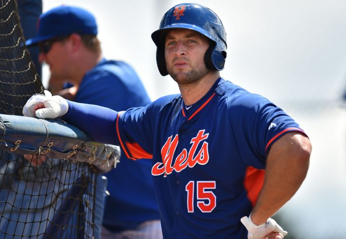 Tim Tebow Begins New York Mets Career With Workout In Port St. Lucie (Photos) 1