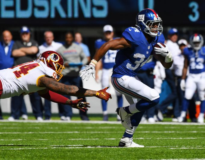 New York Giants RB Shane Vereen Lost For Season With Tricep Injury