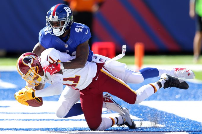 Eli Manning, New York Giants Fall To Washington Redskins 29-27 (Highlights) 2