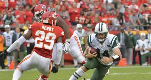 New York Jets, Ryan Fitzpatrick Failed First Test Against A Great Defense 2
