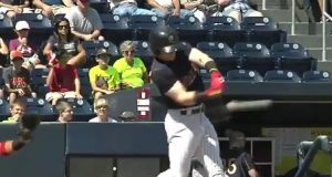 New York Yankees' Top Prospect Clint Frazier Homers In First At-Bat Back From Injury (Video)