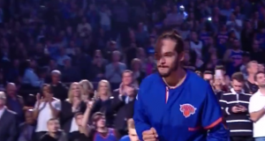 Derrick Rose & Joakim Noah Introduced To MSG Crowd For First Time (Video)