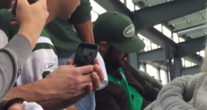 New York Jets Fans Throwing Up During Loss To Seahawks