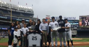 New York Yankees Honor Mark Teixeira With Retirement Ceremony (Video)