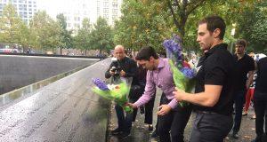 New York Rangers Visit 9/11 Memorial (Video) 2