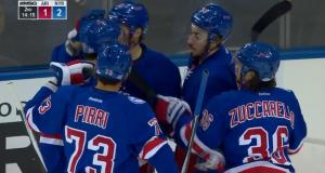New York Rangers: J.T. Miller Deflects A Beauty