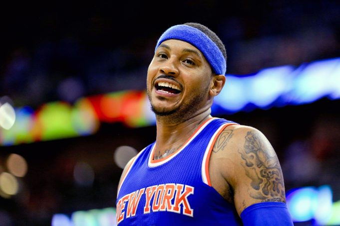 New York Knicks: Carmelo Anthony Is Over Colin Kaepernick's Protest 1