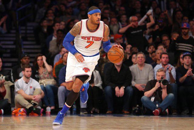 Mar 26, 2016; New York, NY, USA; New York Knicks small forward <a rel=