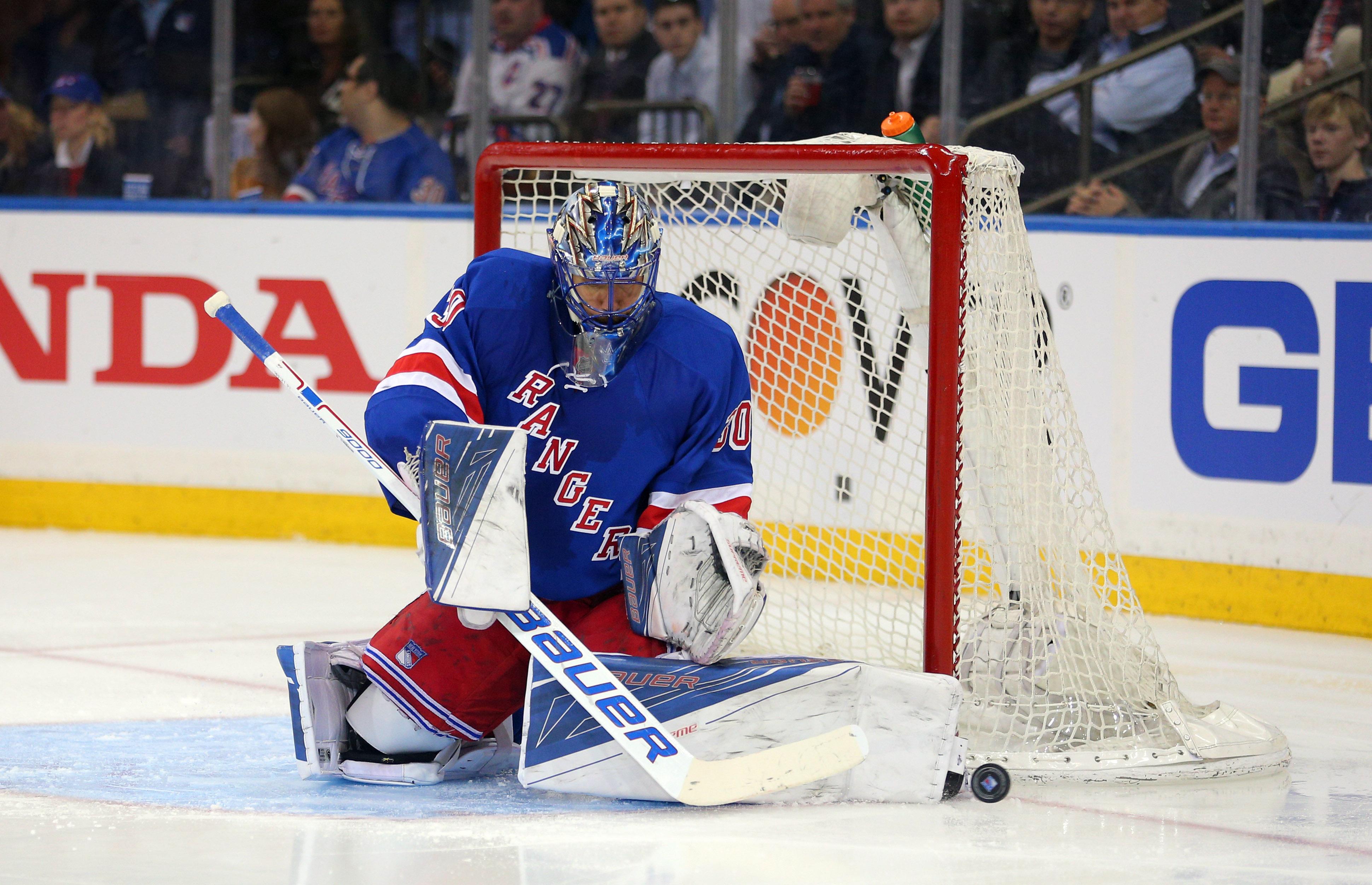 New York Rangers Goaltender Henrik Lundqvist Is Back 2