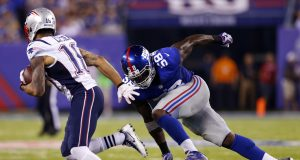 New York Giants' Owa Odighizuwa Fined For Celebrating Pick Six With Landon Collins