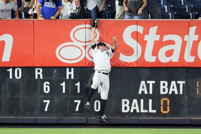 New York Yankees: Brett Gardner Listed As Finalist For Gold Glove Award