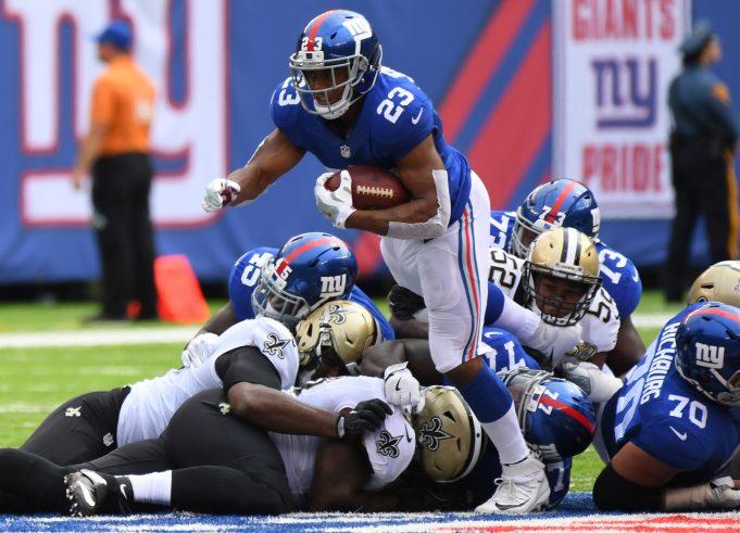 New York Giants Hopeful Rashad Jennings Will Play On Sunday 2