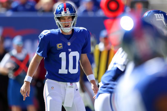 Eli Manning, New York Giants Have Point To Prove In Minnesota