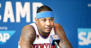 Carmelo Anthony, New York Knicks Mull Anthem Demonstration 1