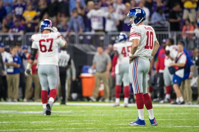 By The Numbers: Fixing The New York Giants Offense
