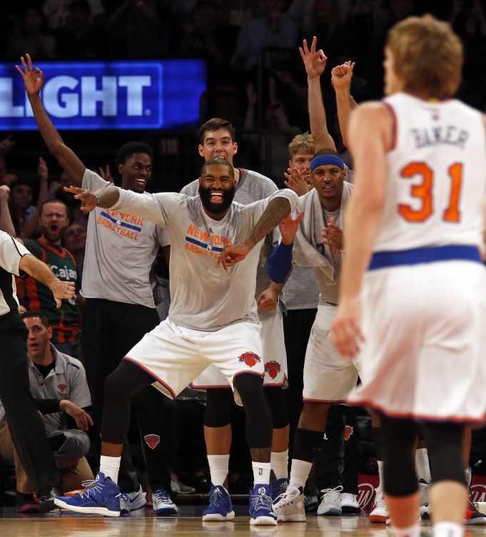 New York Knicks | You be the GM: Chasson Randle or Ron Baker 2