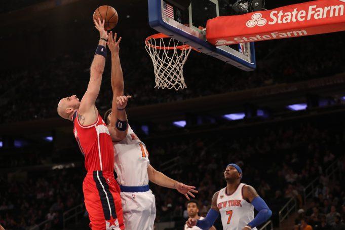New York Knicks' Carmelo Anthony Sees 'A Lot' Of Marc Gasol In Hernangomez 1