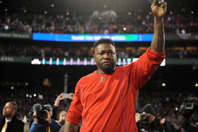 Oct 10, 2016; Boston, MA, USA; Boston Red Sox designated hitter <a rel=